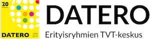 Datero ry:n visuaalinen logo